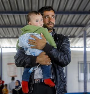 Personas desplazadas sirias